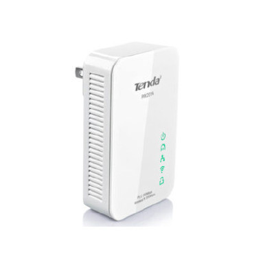 TENDA PW201A  300Mbps AV200 Wireless N Powerline Extender with 1Lan 10/100 RJ-45