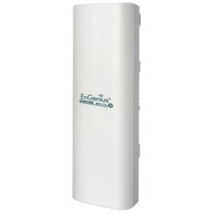 EnGinius ENH-500 802.11b/g/n 300Mbps Outdoor Wireless Access Point, 2x10/100 Ethernet, 28dBm