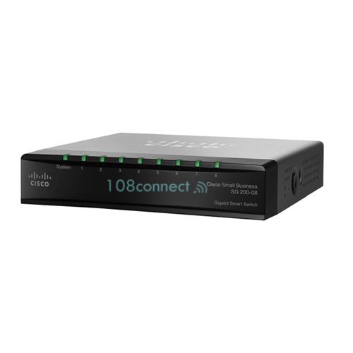 CISCO SLM2008T SG200-08 8-port Gigabit Smart Switch