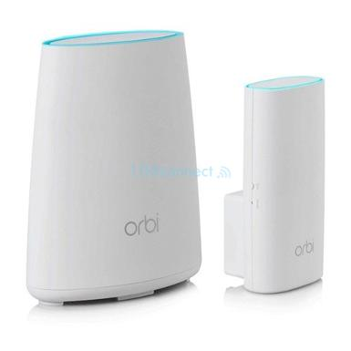 NETGEAR ORBI RBK30 AC2200 Tri-Band Whole Home Wi-Fi Mesh System