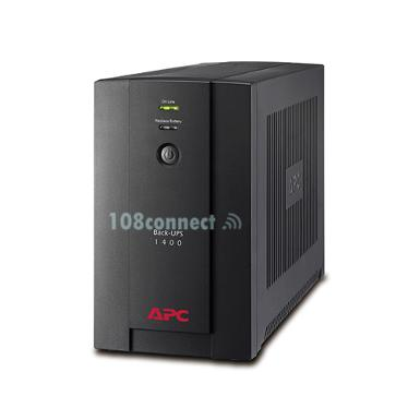 APC BX1400U-MS Back-UPS 1400VA, 230V, AVR, Universal and IEC Sockets