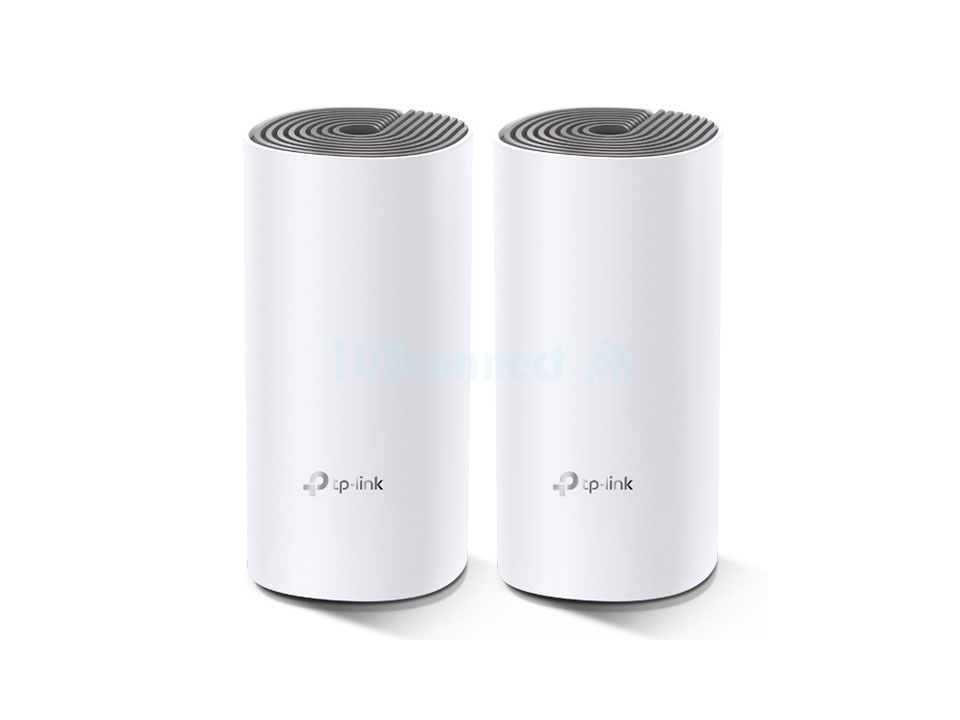 TP-LINK Deco E4(2-Pack) AC1200 Whole Home Mesh Wi-Fi System