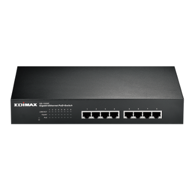 EDIMAX GS-1008P 8-Port Gigabit Ethernet PoE+ Switch
