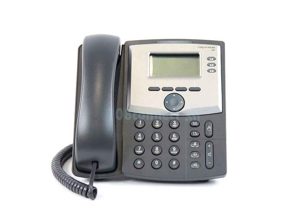 CISCO SPA303-G2 3 Line IP Phone with Display and PC Port (included adapter)