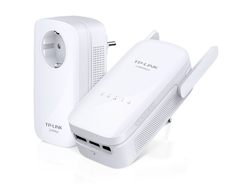 TP-LINK TL-WPA8630 KIT AV1200 Gigabit Powerline ac Wi-Fi Kit