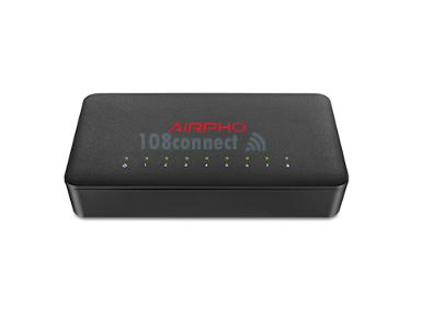 AIRPHO AR-FS108 8-Port 10/100Mbps Desktop Switch