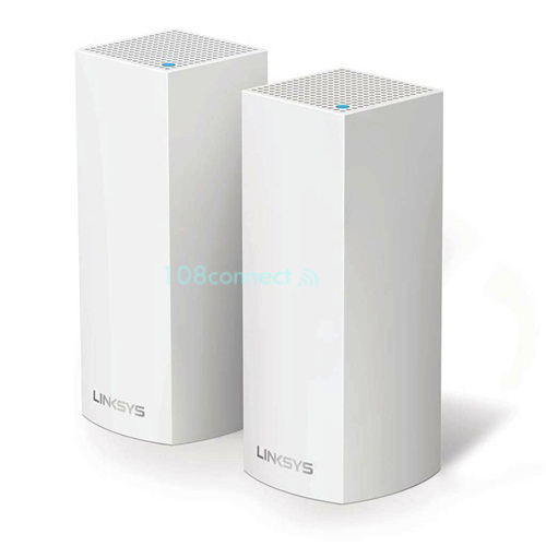LINKSYS WHW0302-AH AC2200 Tri-Band Velop Whole Home Mesh Wi-Fi System (Pack 2)