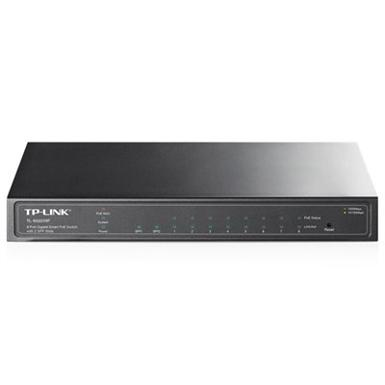 TP-LINK TL-SG2210P 8-Port Desktop Gigabit PoE Switch w/ 2x SFP Ports (53W)