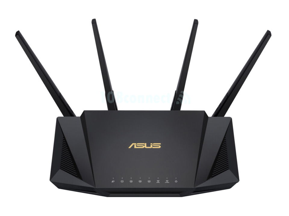 ASUS RT-AX3000 AX3000 Dual Band WiFi 6 (802.11ax) Router supporting MU-MIMO