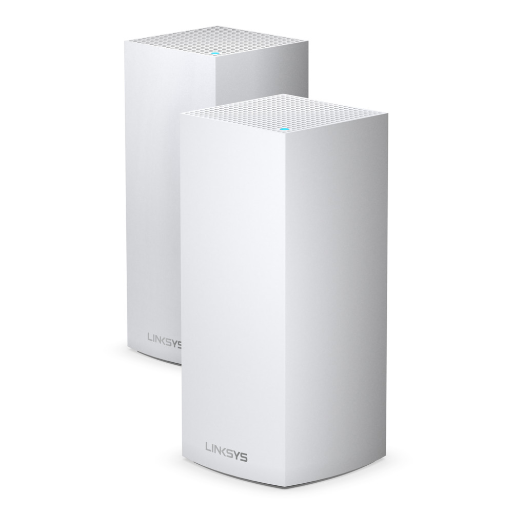 LINKSYS MX10600-AH MX10 VELOP AX5300 MESH WiFi 6 SYSTEM TRI-BAND ROUTER (PACK2)