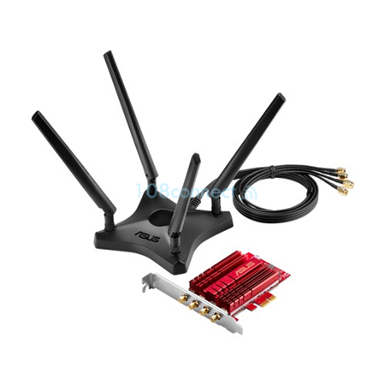 ASUS PCE-AC88 Dual-Band AC3100 Wireless PCIe Adapter