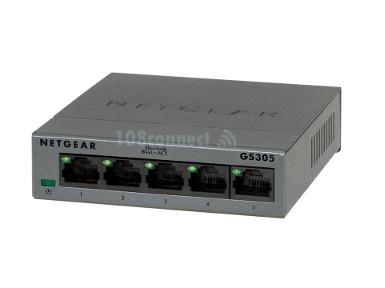 NETGEAR GS305 5-Port Unmanaged Switches Gigabit Ethernet Switch
