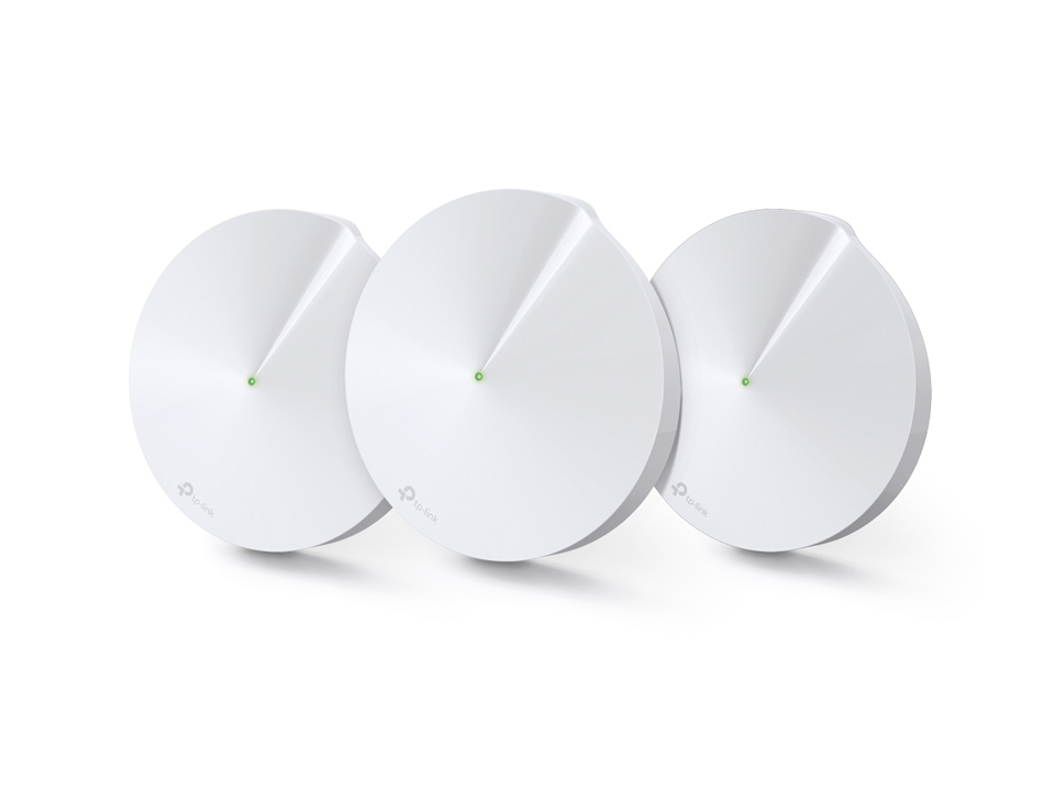 TP-LINK Deco  M9 Plus(3-Pack) AC2200 Tri-Band Smart Home Mesh Wi-Fi System