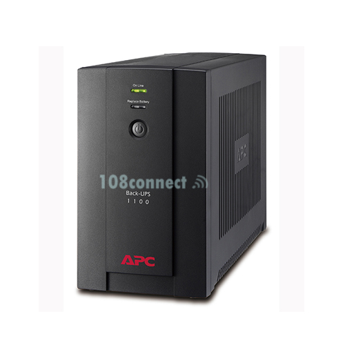 APC BX1100LI-MS Back-UPS 1100VA/550W, 230V, AVR, Universal and IEC Sockets