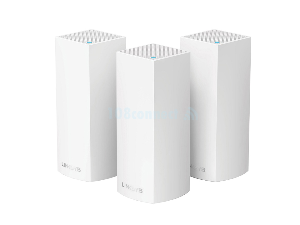 LINKSYS WHW0303-AH  AC2200 Tri-Band Velop Whole Home Mesh Wi-Fi System (PACK 3)