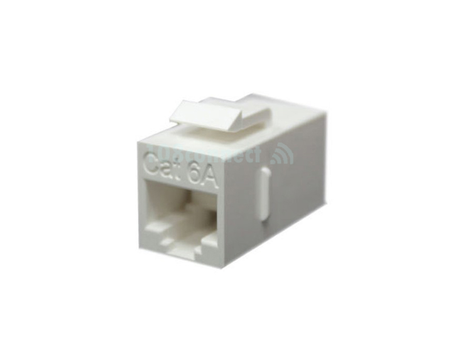 LINK US-4007IL CAT 6A In-Line COUPLER, usable for Patch Panel