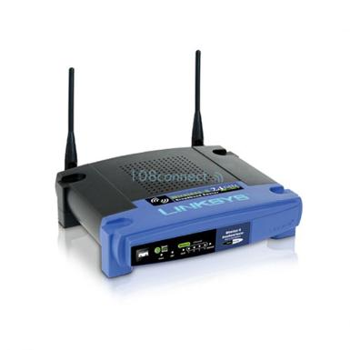 LINKSYS WRT54GL 54Mbps Wireless-G Broadband Router, Antenna 2 3dBi