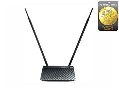 ASUS RT-N12HP N300 Wireless-N High Power Router/AP/Range Extender with Antenna 2*9dBi, 200mW.