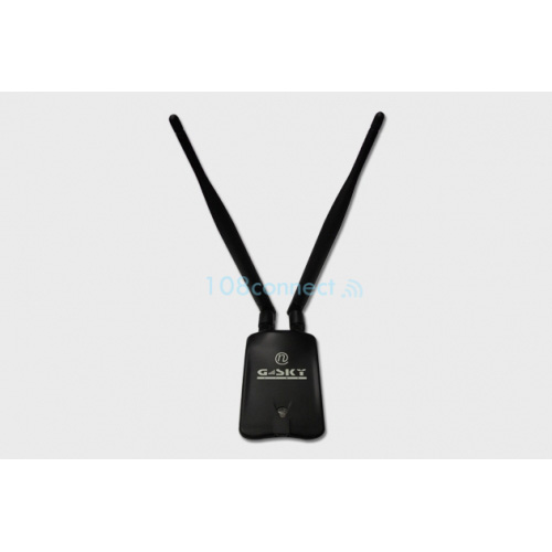 G-SKY GS-28USB-50 N150 150Mbps Wireless-N USB Adapter 2000mW. Antenna 2*5dBi