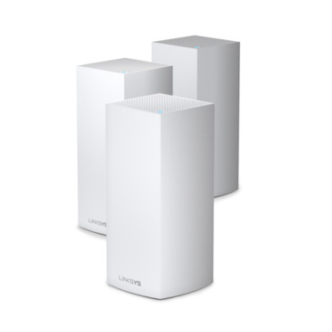 LINKSYS MX12600 Velop AX4200 Tri-Band Mesh WiFi 6 System (Pack 3)