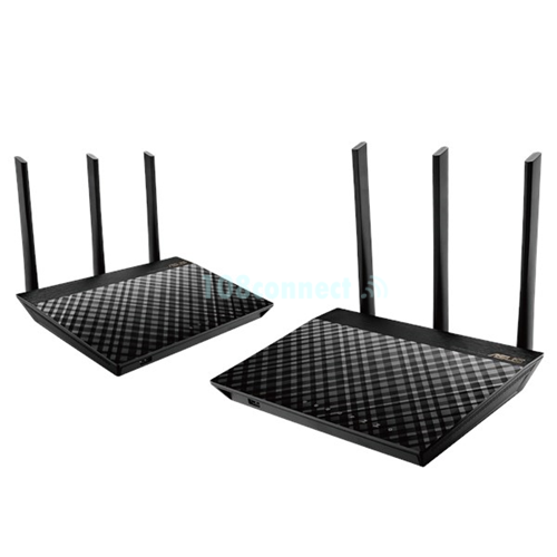 ASUS RT-AC67U AiMesh wifi system 2 Pack AC1900 Dual band whole home mesh wifi system