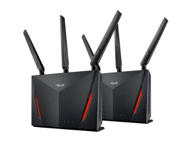 ASUS RT-AC86U 2 Pack AC2900 DUAL-BAND WiFi ROUTER WITH MU-MIMO ( 1SET=RT-AC86U X 2UNIT)