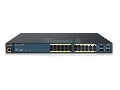 EnGenius EWS1200-28TFP 24-Port Gigabit Managed Smart Switch with Wireless Controller