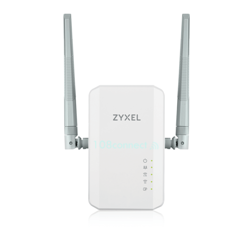 ZYXEL PLA5236 1000Mbps Powerline Gigabit Ethernet Adapter (2port 100/1000Mbps)