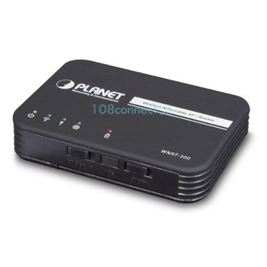 PLANET WNRT-300 150Mbps 802.11n Wireless Portable AP/Router