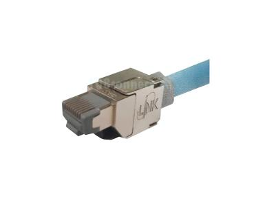 LINK US-1071S Shield CAT 6A RJ45 Modular PLUG ตัวผู้ Field Terminated