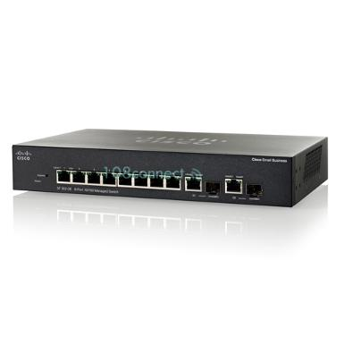 CISCO SRW2008-K9-G5 SG300-10 10-port Gigabit Managed Switch