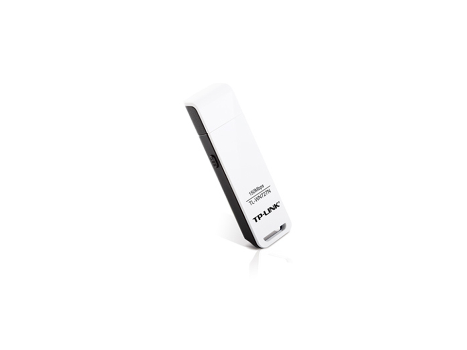 TP-LINK TL-WN727N 2.4GHz 150Mbps Wireless N USB Adapter