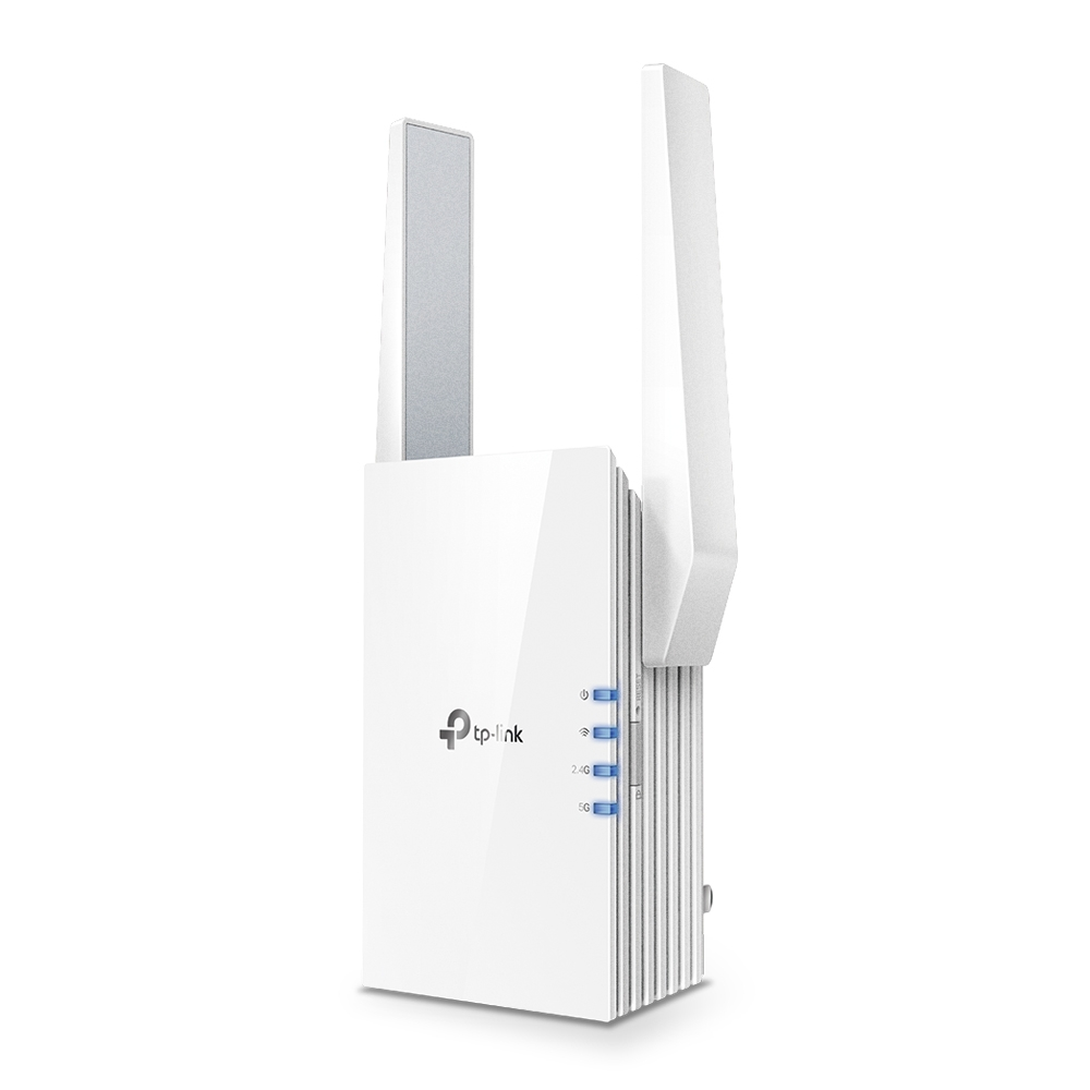 TP-LINK RE505X AX1500 Wi-Fi 6 Dual Band Wireless Wall Plugged Range Extender