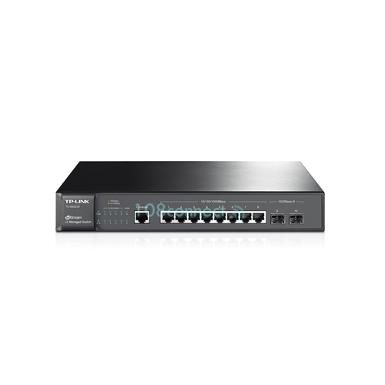 TP-LINK T2500G-10TS (TL-SG3210) 8-Port Layer 2 Managed Gigabit Switch w/ 2x SFP Slots