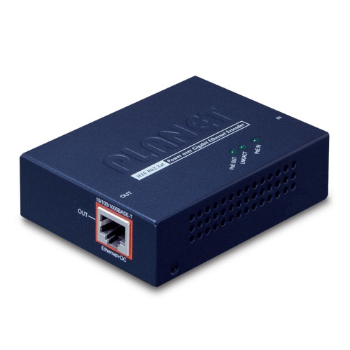 PLANET POE-E201 IEEE 802.3at Power over Gigabit Ethernet Extende