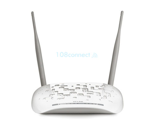 TP-LINK TD-W8961ND 300Mbps Wireless ADSL2/2+ Modem Router 4Lan 10/100Mbps, Antenna 2*5dBi