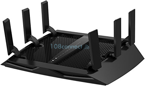NETGEAR R8000 Nighthawk X6 AC3200 Tri-Band WiFi Broadband Router
