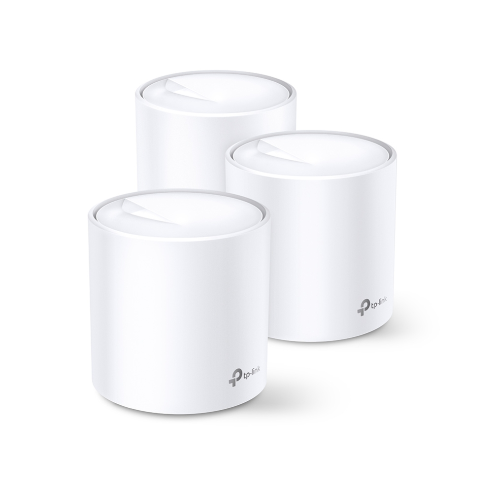 TP-LINK Deco X60 PACK3 AX3000 Whole Home Mesh Wi-Fi System